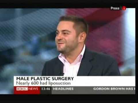 Dr Michael Sinclair Consultant Psychologist on BBC News Live