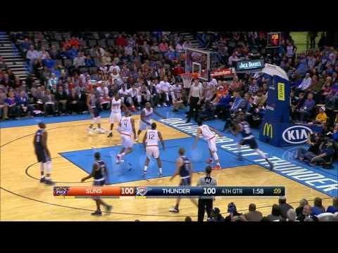Phoenix Suns vs Oklahoma City Thunder | December 31, 2015 | NBA 2015-16 Season