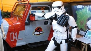 Stormtroopers in Jurassic Park! (SciFi convention