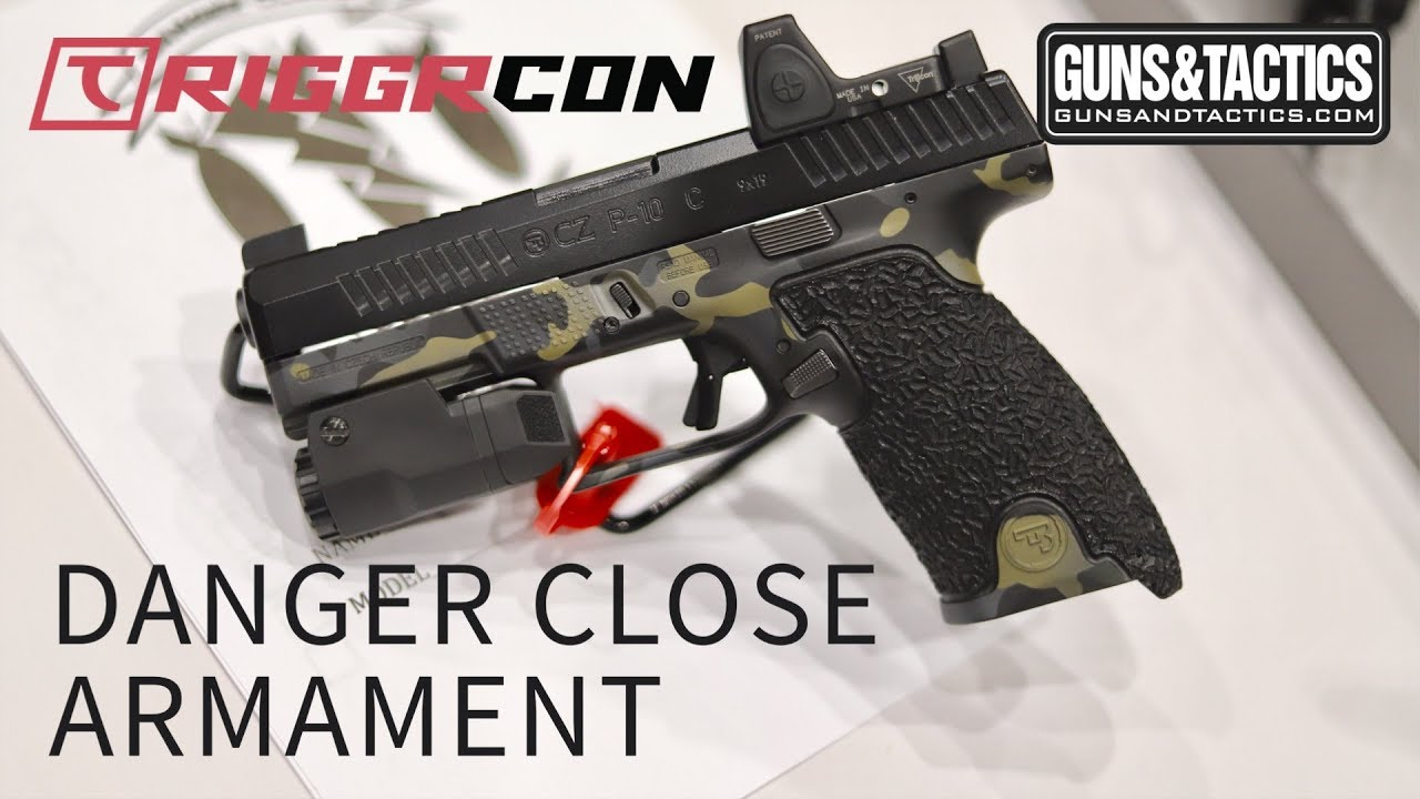 CZ P10 taken to the next level by Danger Close Armament