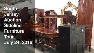 July 24, 2016 Sideline Furniture Tour - South Jersey Auction