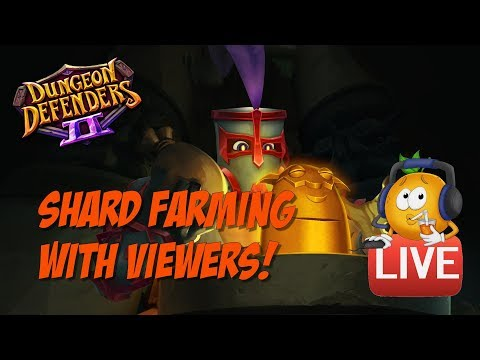 DD2 Shard Farming -  Searching for Vamp! W/ Viewers!