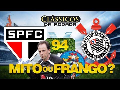SÃO PAULO x CORINTHIANS - Clássicos da Rodada #94 FIFA 15 - Brasileirão Série A 2015 09/08