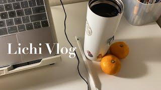 Vlog | #20 | 수업듣기, 공부, 출근의 반복 …
