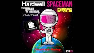 Spaceman VS Low - Hardwell + Flo Rida Ft. T-Pain (Good4Josh Mashup) (1080p HD)