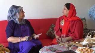 Sutara Arian with Shila Rahmani
