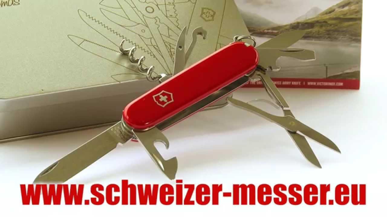 victorinox schweizer taschen messer geschenkset mit gravur youtube. Black Bedroom Furniture Sets. Home Design Ideas