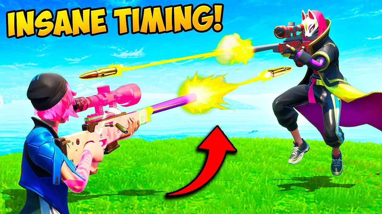 *INSANE* SNIPER SHOT KNOCKS TWO PLAYERS!! – Fortnite Funny Fails and WTF Moments! #667