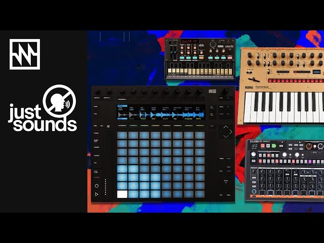 Just Sounds: Synth Jam with Ableton's Push