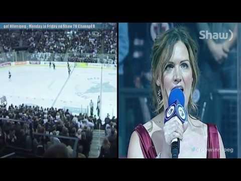 'O Canada' - Stacey Nattrass Profile (Winnipeg Jets Anthem Singer)