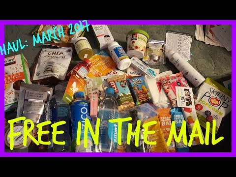 FREE Samples in the Mail: March 2017