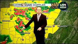 severe weather wboy stormtracker 12 forecast wboy 12 news 6 00 pm tuesday 23 july 2013