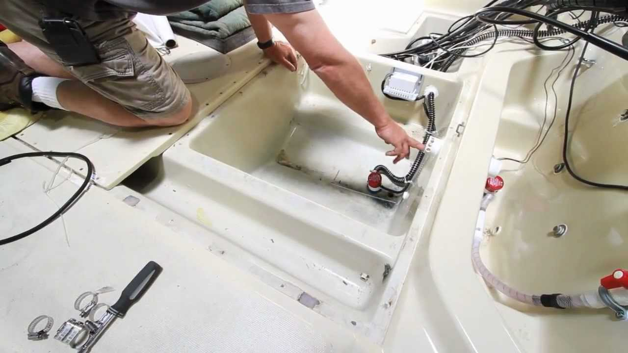 small resolution of ultimate live well set up on a 1988 22 boston whaler outrage