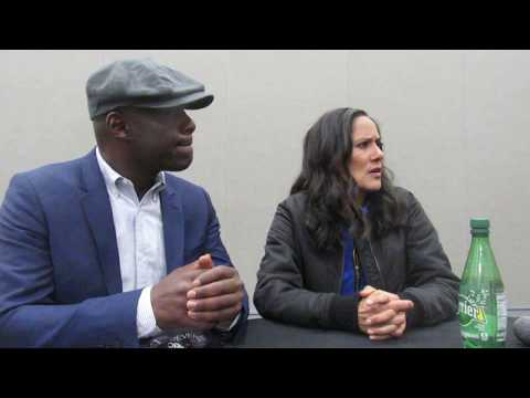BB Exclusive: Paterson Joseph & Sakina Jaffrey Chat Timeless At WonderCon 2018