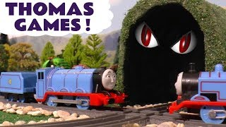 Thomas and Friends Pranks with Toy Trains for kids & children Funny Tom Moss Prank Toy Stories TT4U
