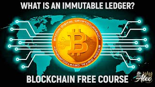 What is an Immutable Ledger in BlockChain? Build A Blockchain & Cryptocurrency|