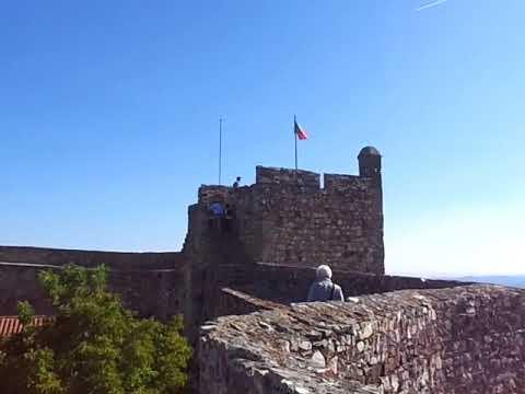Castelo de Marvão e suas belas paisagens envolventes