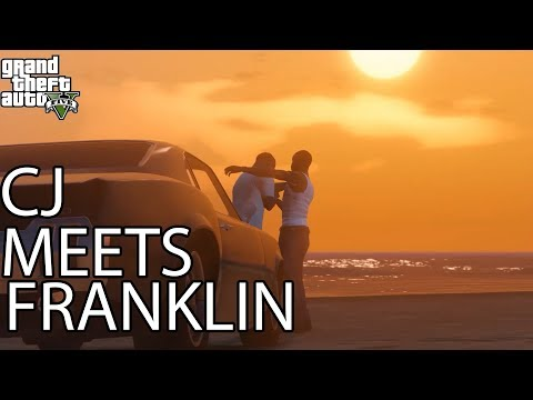 GTA V - CJ Meets Franklin