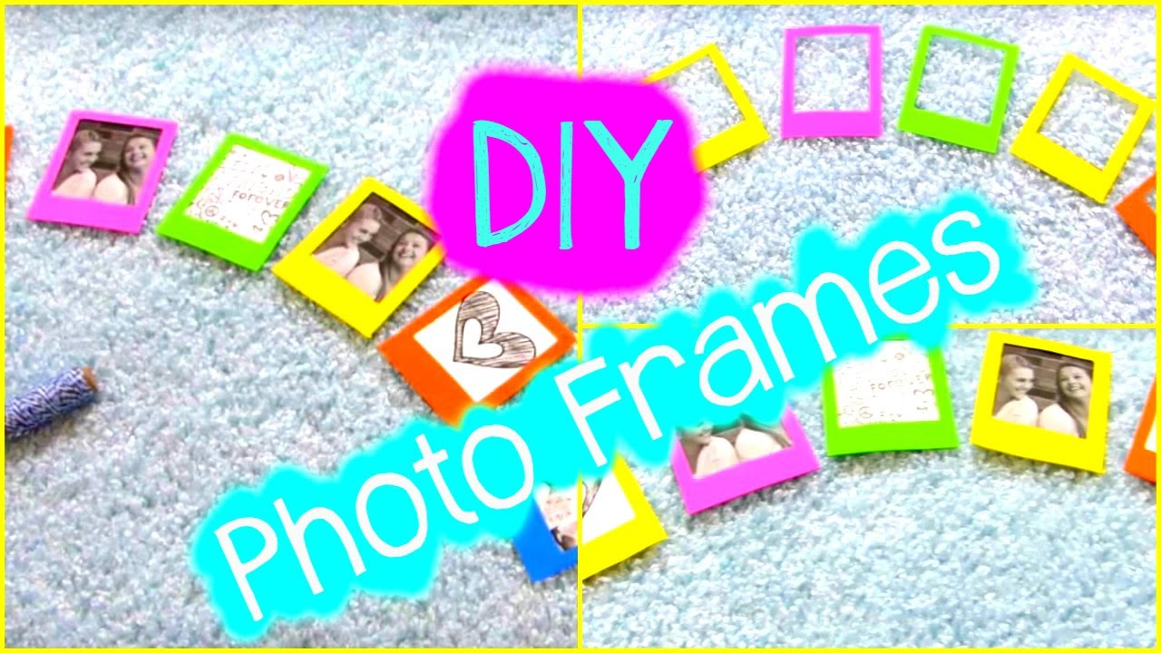 sc 1 st  YouTube & DIY Crafts: Photo Frame Ideas u0026 Decorations - YouTube