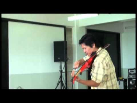 Jazz Rock Improvisation on the violin by Jerry Sales (Ben E. King) Stand by Me