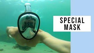 Platinum Arowana Easy Breath Full Face Snorkel Mask Just Doesn't Click