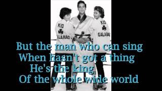 King Of The Whole Wide World - Elvis Presley ( Cover with lyric )