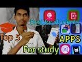 top 5 apps for students in hindi. try it for study,free android,in2018,most useful,smart teacher.