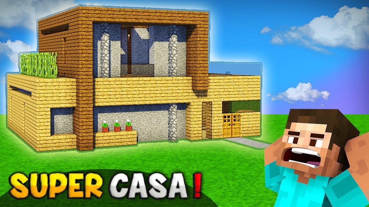 Minecraft como hacer la mejor super casa para survival - El mejor ambientador para casa ...