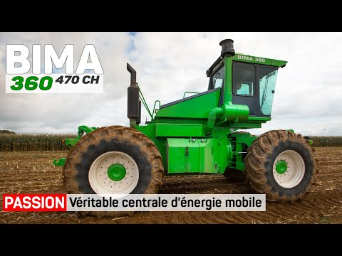 Tracteur articulé BIMA 360 4WD - 470 HP / 4WD French tractor