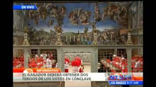 Cardenales invocan al Espíritu Santo para designar al sucesor de Benedicto XVI