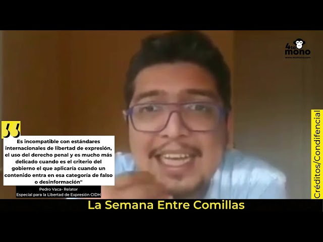 Pedro Vaca- Ley de Ciberdelitos en Nicaragua