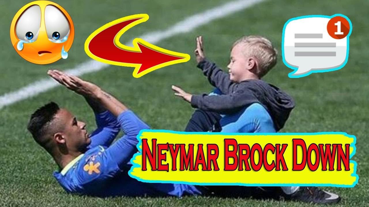 Неймар и его сын видео