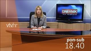 VTV Dnevnik najava 16. veljače 2018.