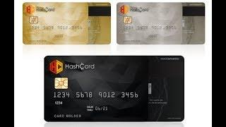 Продажа токенов Hash Card -  Революция в СПОСОБАХ использования кредитных и дебетовых карт.
