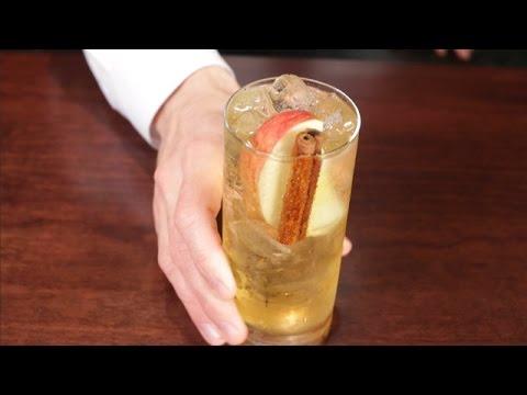 Apple Moonshine Ginger Beer Cocktail