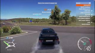 Forza Horizon 3 Sierra RS500 Roundabout Fun and top speed!