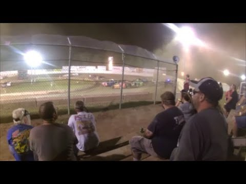 Accord Speedway dirt racing and crashes