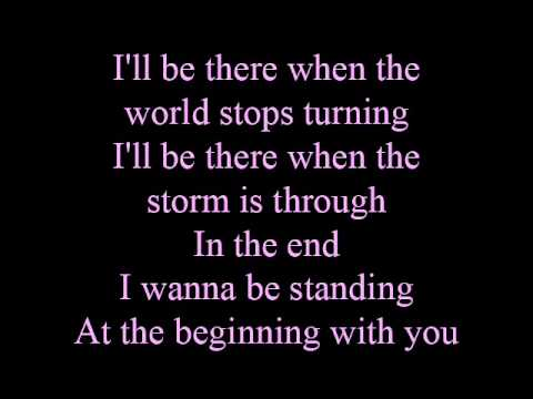 At the beginning - lyrics