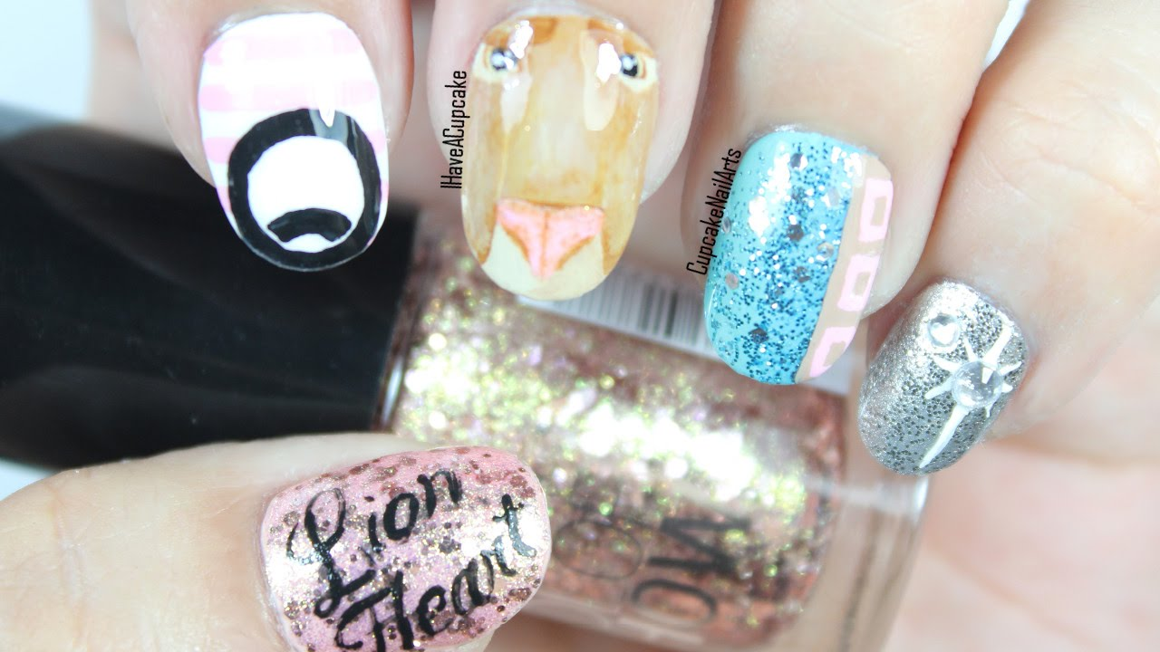 Girls generation lion heart nails kpop nail art youtube prinsesfo Image collections