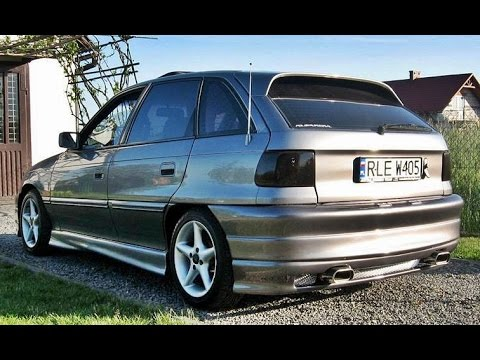 OPEL ASTRA F by mateuszws & kriss part.3 - YouTube
