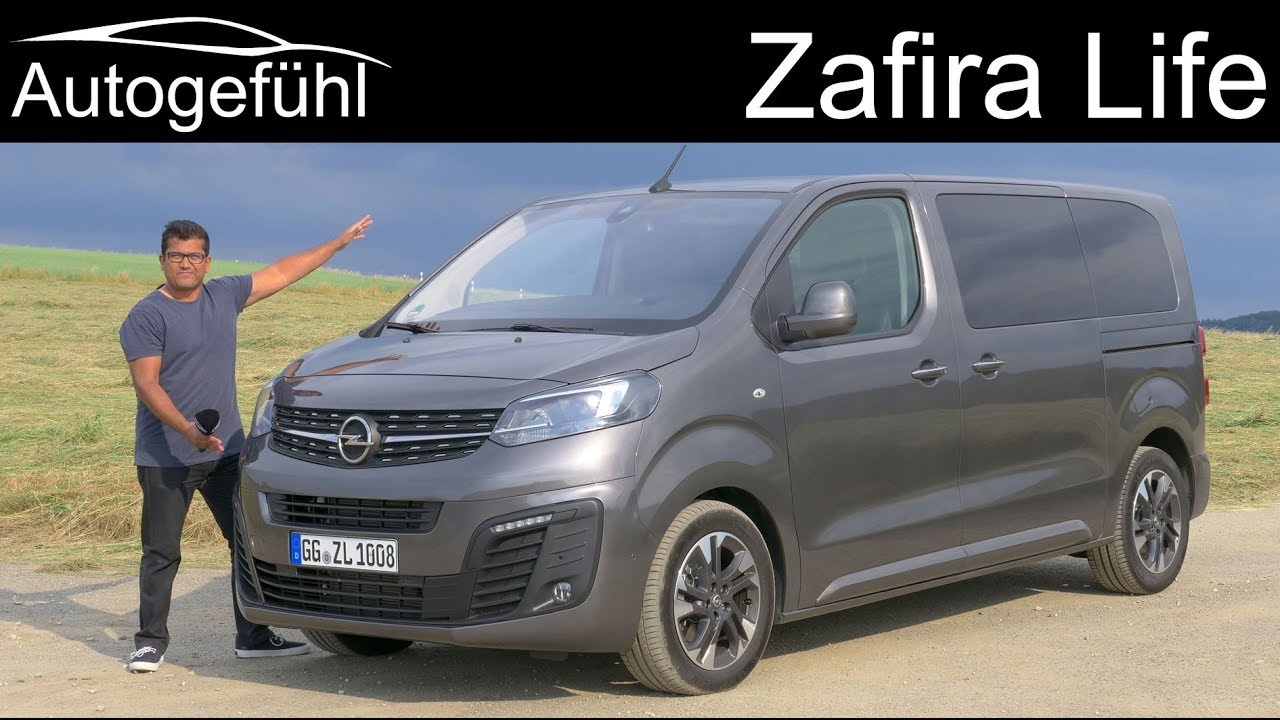 All New Opel Zafira Life Full Review Vauxhall Vivaro Budget Alternative To The Vw Multivan Youtube
