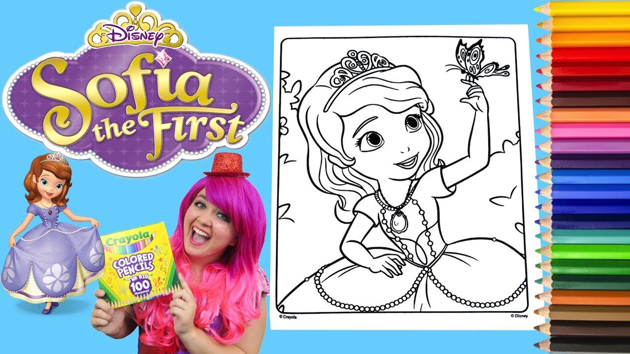 6700 Top Crayola Giant Coloring Pages Sofia The First Pictures