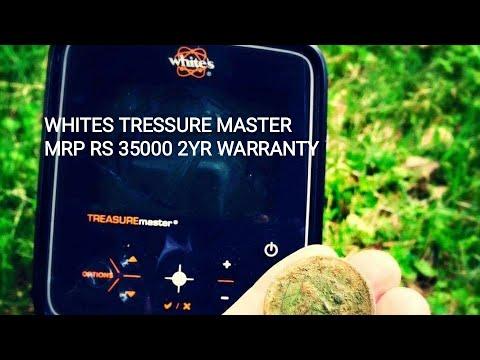 WHITES TREASURE MASTER METAL DETECTOR GOLD DETECTOR IN INDIA