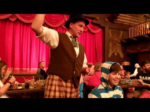 A good time at the Hoop Dee Doo Musical Revue!!!!