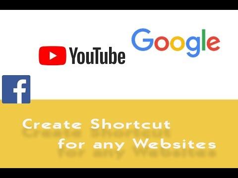 Create Shortcut For Any Websites Like Facebook/Google/Youtube/etc On Desktop In Bengali