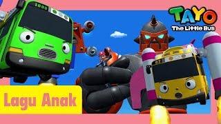 Tayo Lagu Pembukaan Tema Versi petualangan luar angkasai l lagu untuk anak-anak l Tayo bus kecil