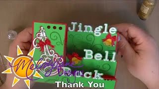 Jingle Bell Rock Side Step Card Design Space iPad App Beta