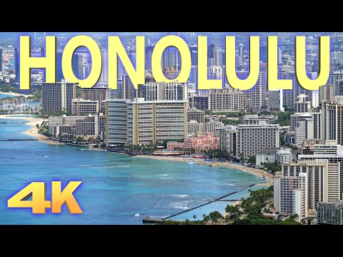 HONOLULU, HAWAII - 2016 4K