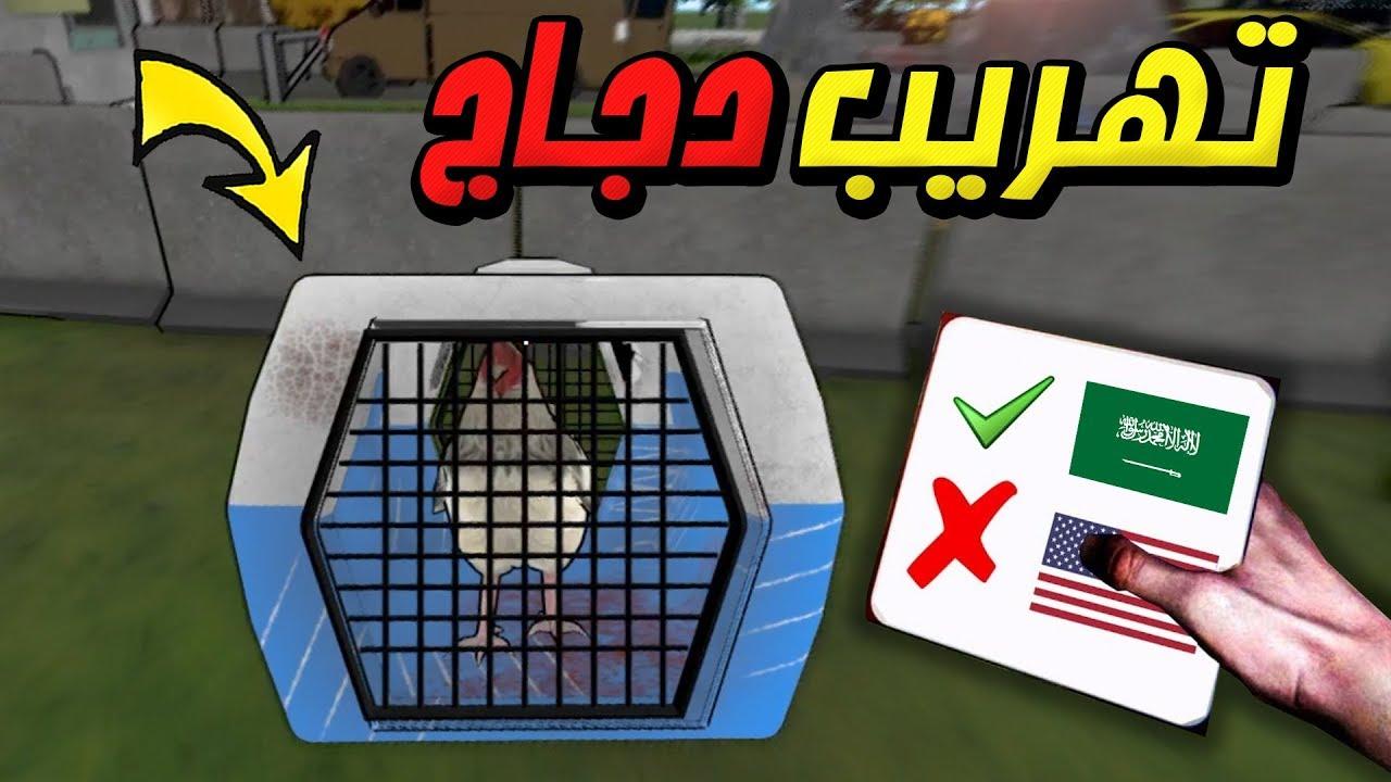 محاكي التفتيش : شخص يهرب معاه دجاج BORDER FORCE !!