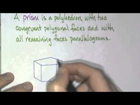 Polyhedra Definitions